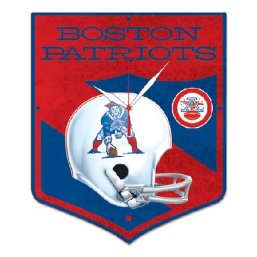 New England Patriots High Definition Wall Clock (Vintage)