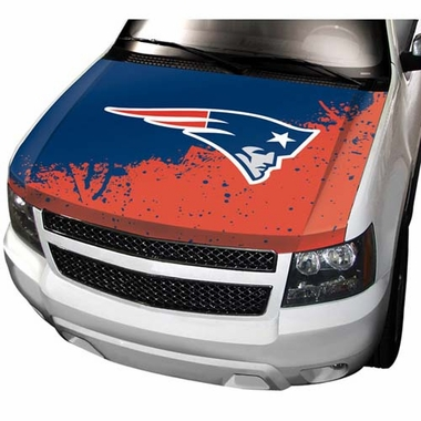 New England Patriots Hood Cover