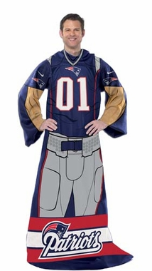 New England Patriots Huddler Wrap (Uniform)