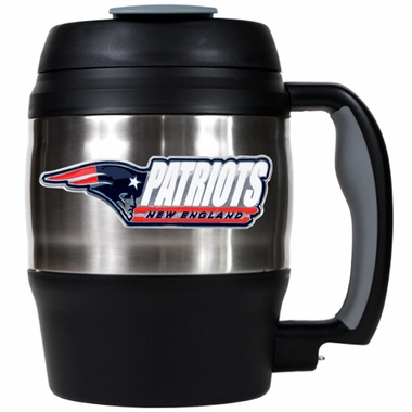 New England Patriots Jumbo Heavy Duty Travel Mug