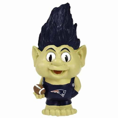 New England Patriots Large Troll Figurine