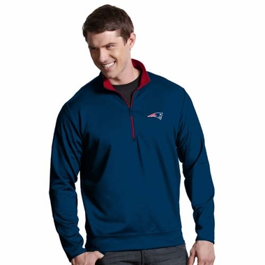 New England Patriots Mens Leader Pullover (Team Color: Navy)