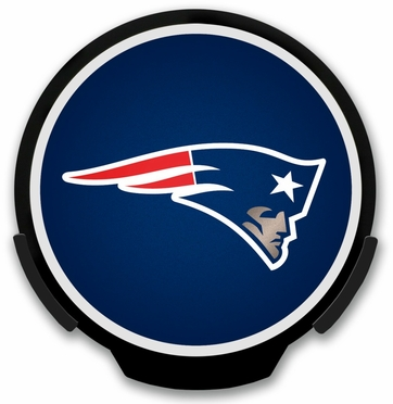 New England Patriots Light Up Power Decal
