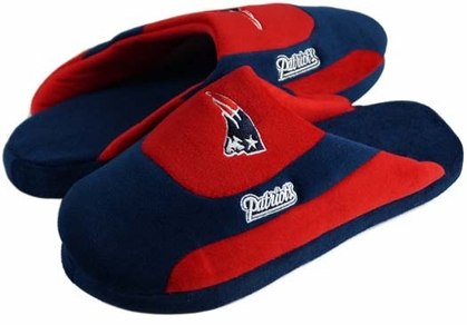 New England Patriots Low Pro Scuff Slippers