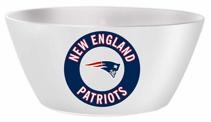 New England Patriots Melamine Serving Bowl