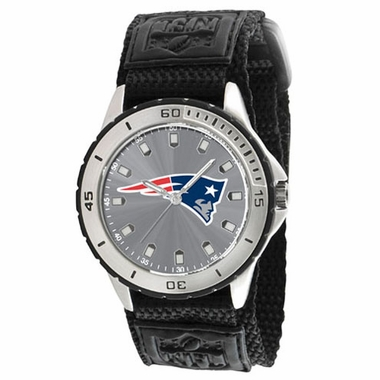 New England Patriots Mens Veteran Watch