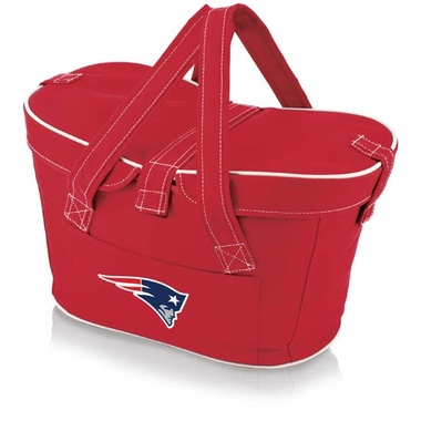 New England Patriots Mercado Picnic Basket (Red)