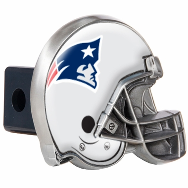 New England Patriots Metal Helmet Trailer Hitch Cover