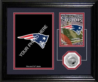 New England Patriots New England Patriots Framed Memories Desktop Photo Mint