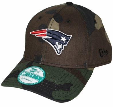 New England Patriots New Era 9Forty NFL Basic Camouflage Adjustable Hat
