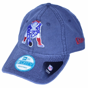New England Patriots New Era 9Forty NFL Winter Shoreline Adjustable Hat - Gray