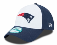 New England Patriots Toddler Color Block Adjustable Hat - Navy Blue/White