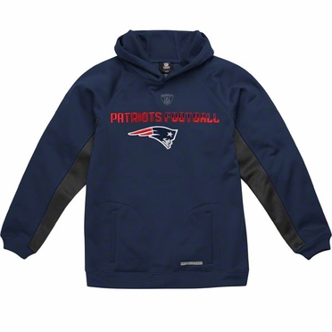 New England Patriots NFL YOUTH Endurance Performance Pullover Hooded Sweatshirt