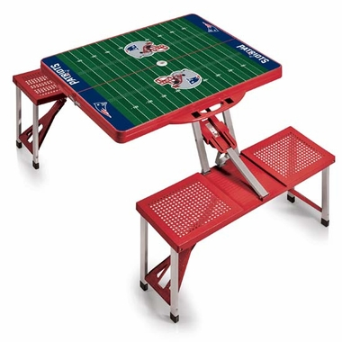 New England Patriots Picnic Table Sport (Red)