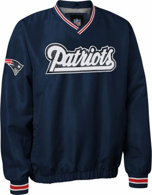 New England Patriots Pre-Season Wordmark Pullover Jacket