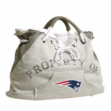 New England Patriots Property of Hoody Tote