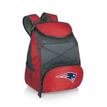 New England Patriots PTX Backpack Cooler (Red)