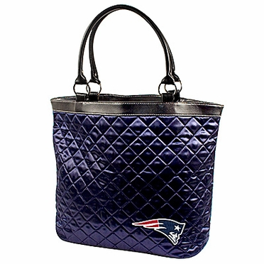New England Patriots Quilted Tote