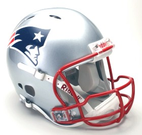 New England Patriots Riddell Full Size Authentic Revolution Helmet
