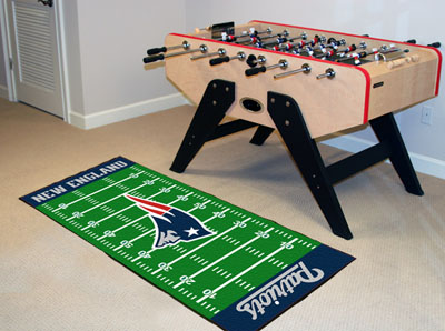 New England Patriots Runner Rug