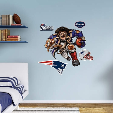 New England Patriots Running Back Fathead Wall Graphic