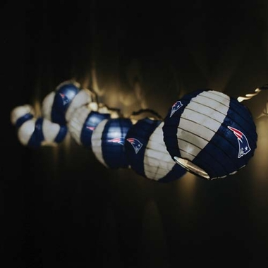 New England Patriots Set of 10 Paper Lanterns