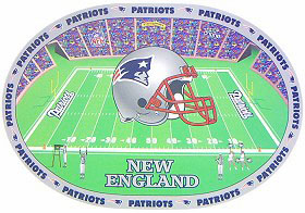 New England Patriots Set of 4 Placemats