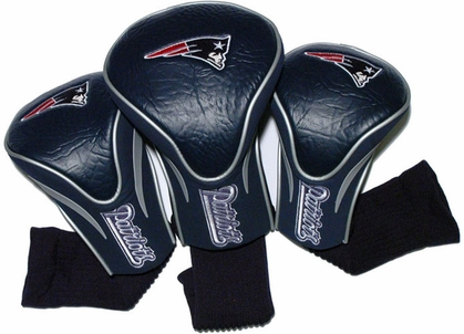 New England Patriots Set of Three Contour Headcovers