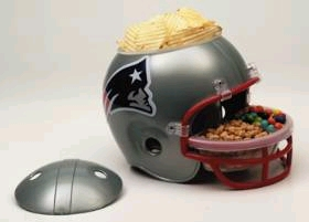 New England Patriots Snack Helmet
