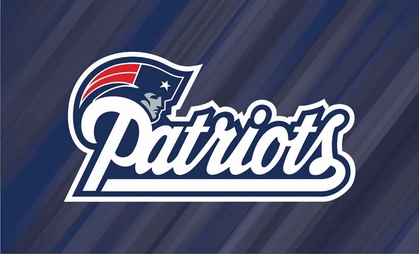 New England Patriots Sublimated Floor Mat
