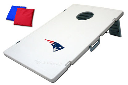 New England Patriots Tailgate Toss 2.0 Cornhole Beanbag Game