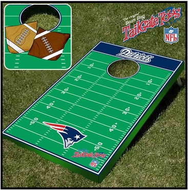 New England Patriots Tailgate Toss Cornhole Beanbag Game