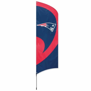 New England Patriots Tall Team Flag