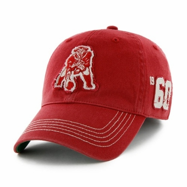 New England Patriots Throwback Badger Franchise Flex Fit Hat