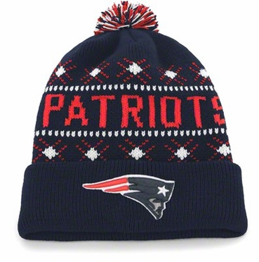 New England Patriots Tip Off Cuffed Knit Hat
