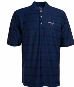 New England Patriots Mens Tonal Polo (Team Color: Navy) - Large