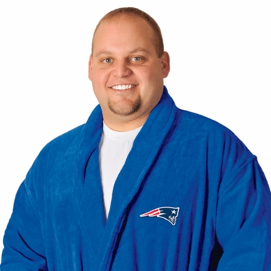 New England Patriots UNISEX Bath Robe (Team Color)