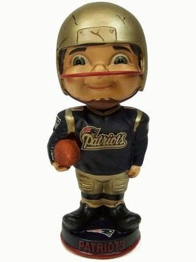 New England Patriots Vintage Retro Bobble Head