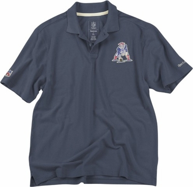New England Patriots Vintage Retro Polo Shirt