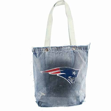 New England Patriots Vintage Shopper (Denim)