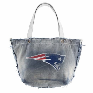 New England Patriots Vintage Tote (Denim)