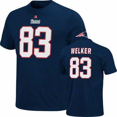 New England Patriots Wes Welker Eligible Receiver Player T-Shirt