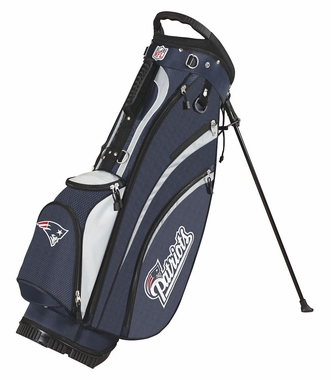 New England Patriots Wilson Golf Carry Bag