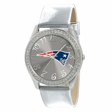 New England Patriots Women's Glitz Watch