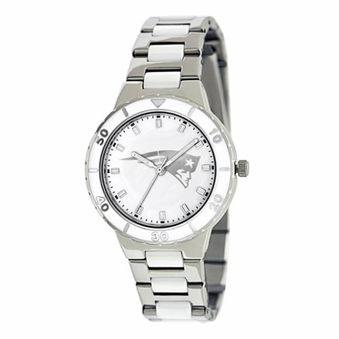 New England Patriots Women's Pearl Watch