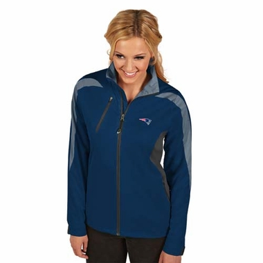 New England Patriots Womens Discover Jacket (Color: Navy)