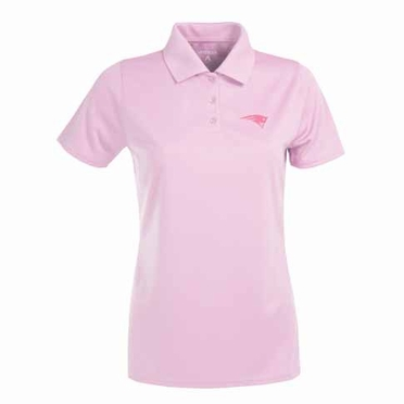 New England Patriots Womens Exceed Polo (Color: Pink)