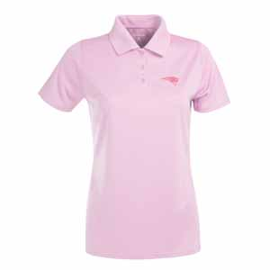 New England Patriots Womens Exceed Polo (Color: Pink) - Large