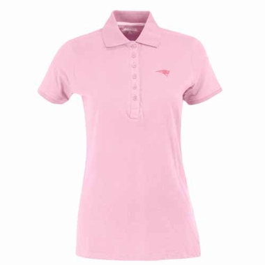 New England Patriots Womens Spark Polo (Color: Pink)
