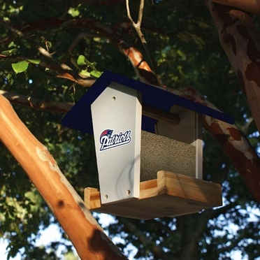 New England Patriots Wood Birdfeeder Kit